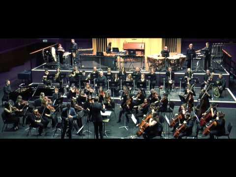 II Concerto for Clarinet + Symphony Orchestra by Oscar Navarro (John O'Duffy - Clarinet)