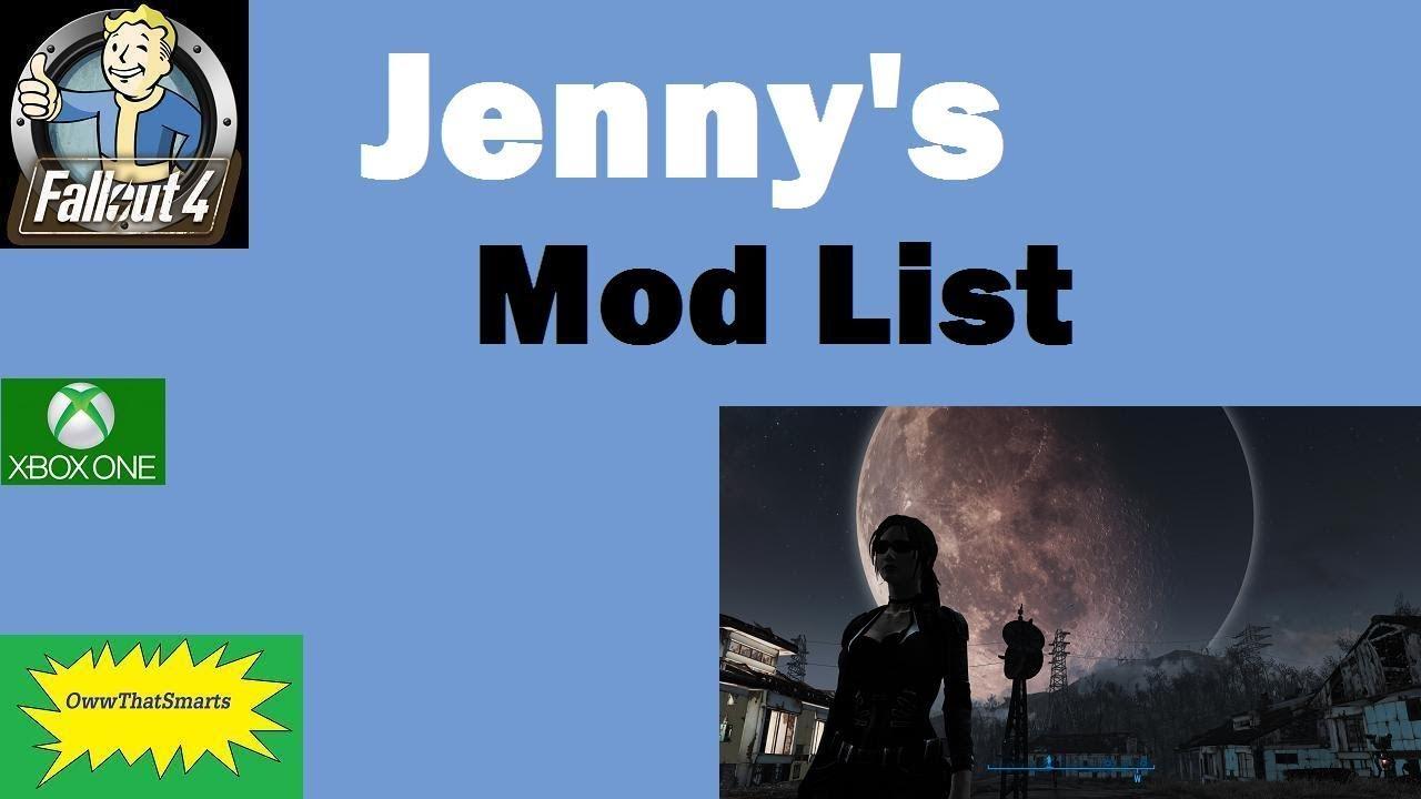 So i went to go search a mod. Fallout 4 Mods Jenny S Mod List Youtube