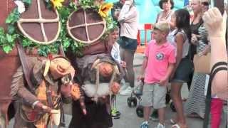 Oakwood Folk, The Grimbles visit Brixham Fishstock Festival 2012