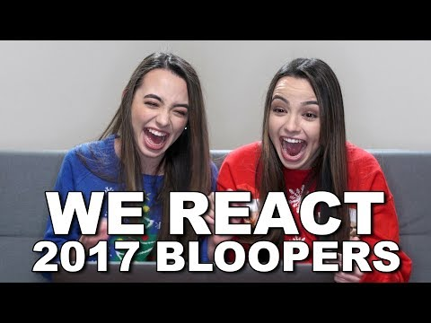 Reacting to our 2017 Bloopers - Merrell Twins