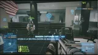Battlefield 3 (Close Quarters)- Dominación de Conquista - Torre de Ziba - Un poquito de DLC