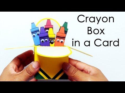 [DIY Kit] Crayon Box in a Card