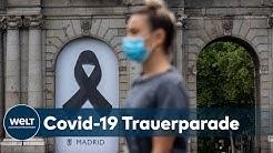 CORONAVIRUS-OPFER: Spanien kündigt zehntägige Staatstrauer Opfer der Covid-19-Pandemie an