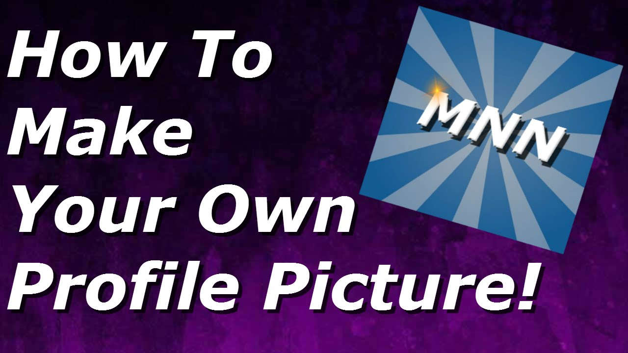 how to make your own profile picture for free with pixlr