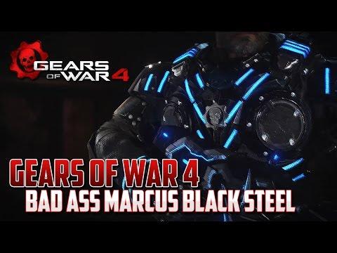 Gears of War 4 | Marcus Black Steel es Todo un Bad Ass!!