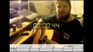 Cours de guitare en une minute : le rythme feu de camp