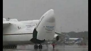 Antonov 225 Myria Departs Manchester
