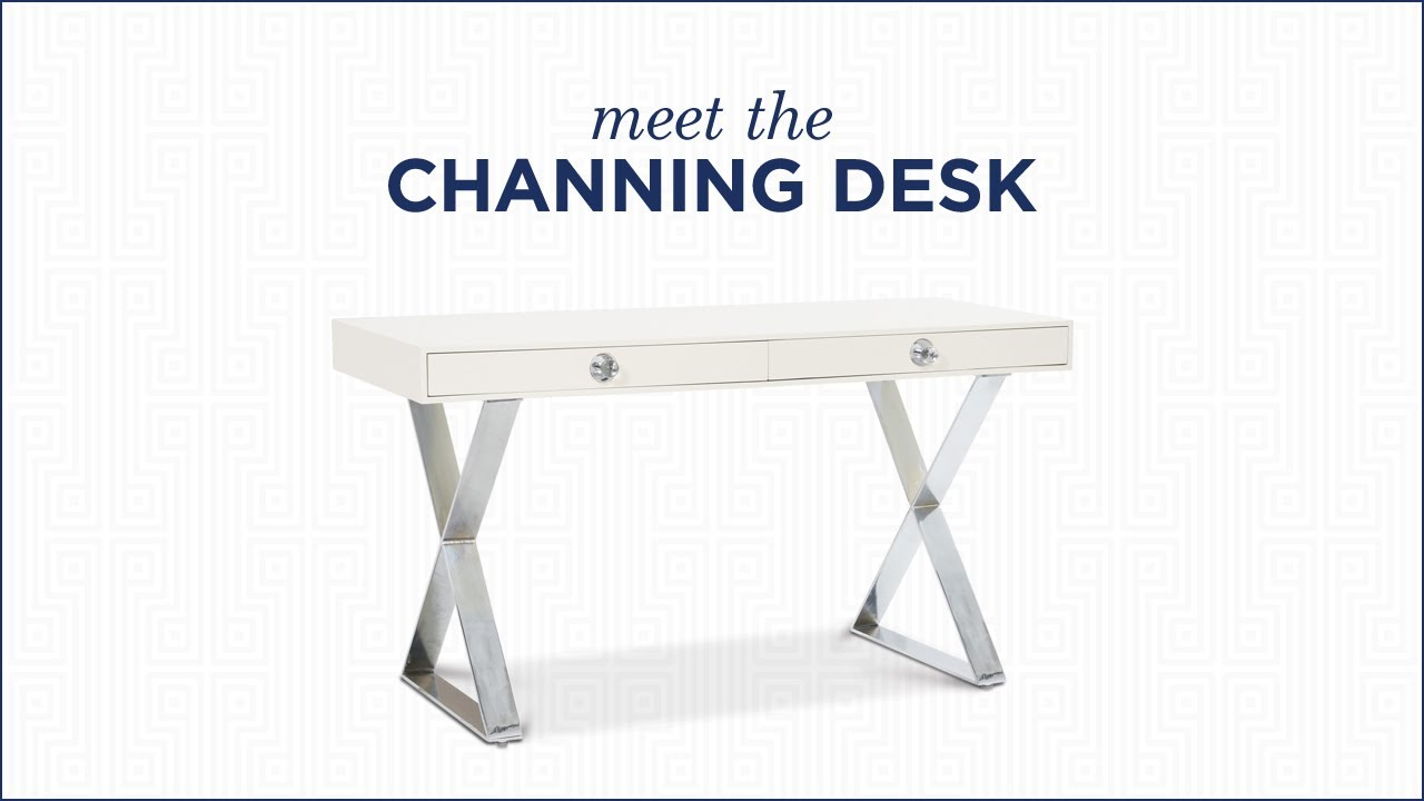 Channing Desk By Jonathan Adler | Modern Desk Design