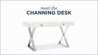 Channing Desk By Jonathan Adler | Modern Desk
