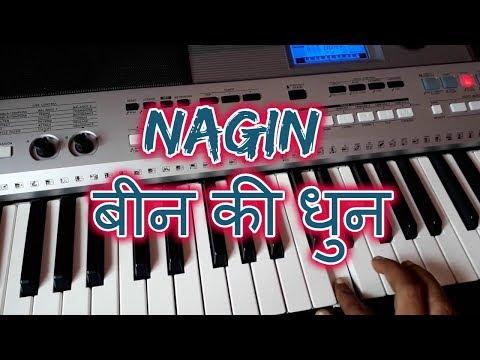 बीन-की-धुन-||-nagin-music-from-main-teri-dushman-song-on-piano
