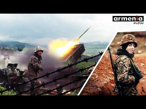 Aпрельская война в Карабахе 2016 и разгром Азербайджана Видео кадры | Новости Армении и Азербайджана