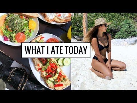 WHAT I ATE TODAY | Healthy & Easy Food Ideas! | Annie Jaffrey