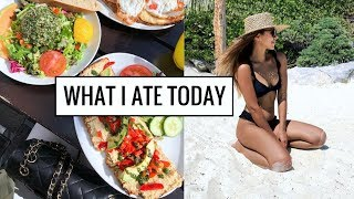 WHAT I ATE TODAY | Healthy & Easy Food Ideas! | Annie Jaffrey