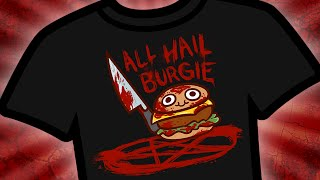 All Hail Burgie - Spooky Halloween Shirt!