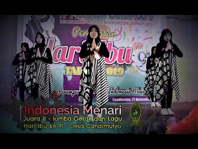 INDONESIA MENARI - JUARA II LOMBA GERAK DAN LAGU HARI IBU KE 91