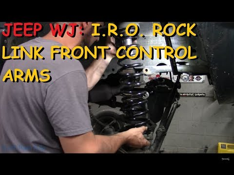 Jeep WJ: Installing Iron Rock Off Road Rock Link Front Long Arms