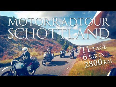 Motorradtour Schottland | Reisedokumentation | Von Norddeutschland nach Schottland und zurück