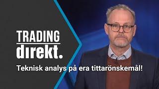 Trading Direkt 2020-01-14: Teknisk analys på 14 tittarönskemål!