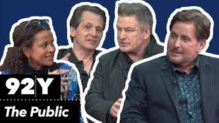 The Public: Emilio Estevez, Alec Baldwin And Dave Giffen In Conversation With Alison Stewart