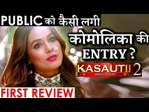 Kasautii Zindagii Kay 2 : Hina Khan makes STYLISH entry as Komolika