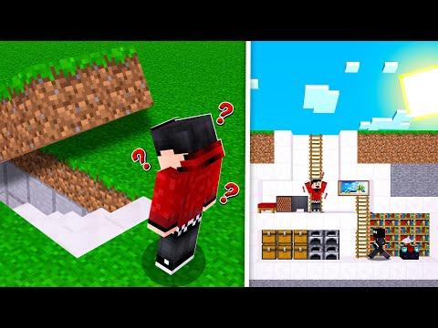 I Built A SECRET BASE In Minecraft Realms SMP! (Episode 1)