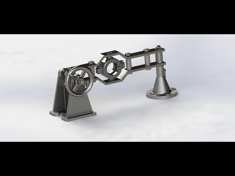 видео: interesting solid #18: Отводка с винтовым приводом