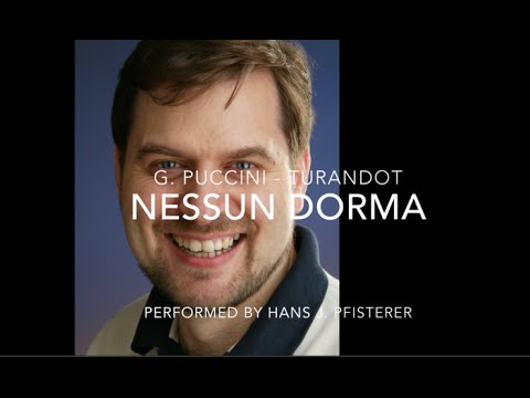 Nessun Dorma - Tenor Hans J. Pfisterer - BBC Concert Orchestra July 2015
