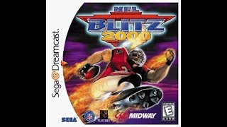 NFL Blitz 2000 (Dreamcast) - Game Play