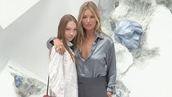Kate Moss, Lila Moss at Dior Menswear SS 2020 Photocall
