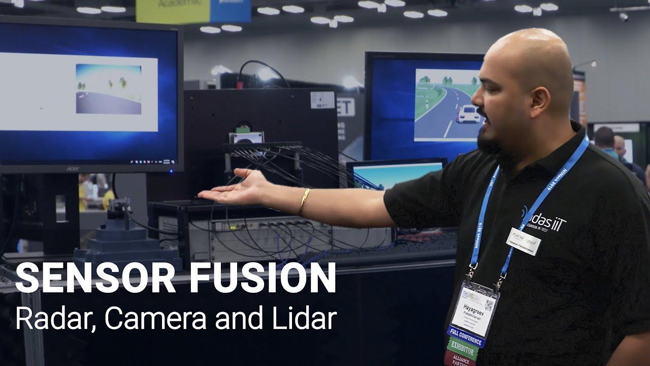 Vehicle Sensor Fusion HIL Test with Radar + Camera + Lidar | Konrad  Technologies