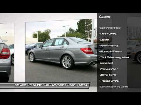 2012 Mercedes Benz C Class Stevens Creek VW   SF Bay Area   San Jose, CA  VX15171