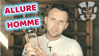 CHANEL ALLURE HOMME FRAGRANCE REVIEW 2019