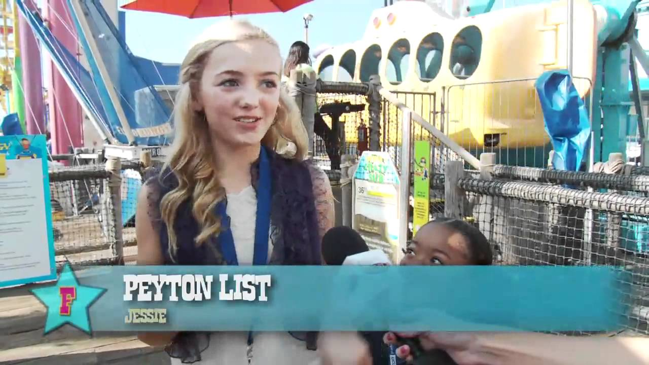 Peyton List And Skai Jackson On A Trampoline | www ...