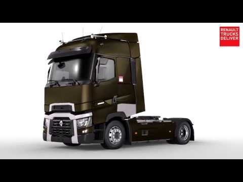 Renault trucks t high sleeper cab 360 view for Renault range t interieur