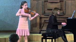 Diana Adamyan - Violonist - Young Prodigy(Diana Adamyan, 12 years old, received the Laureate Diploma