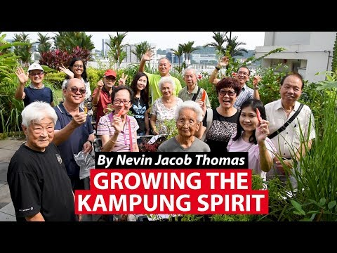 Growing The Kampung Spirit On A Special Rooftop Garden | CNA Insider