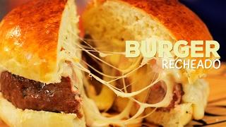 Como fazer Hambúrguer Recheado! - Sanduba Insano - Eduardo Perrone thumbnail