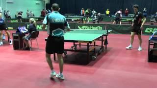 Вячеслав КРИВОШЕЕВ - Валерий ЗОНЕНКО 1/4 (Полная версия), Настольный теннис, Table Tennis