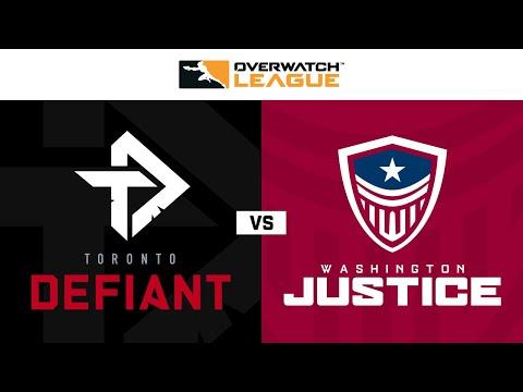 Toronto Defiant vs Washington Justice | Week 9 Day 1