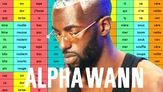 Analyse de rimes : ALPHA WANN - Stupéfiant et Noir (UMLA) [Rap multisyllabique #16]