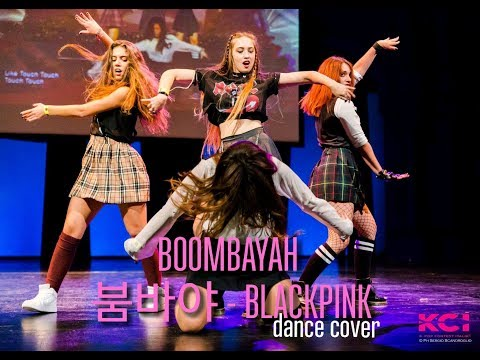 BLACKPINK Boombayah dance cover by RagaMuffin crew - KPOP CONTEST ITALIA 2016