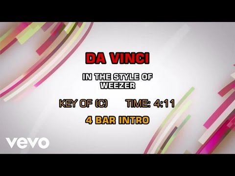 Weezer - Da Vinci (Karaoke)