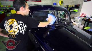 Vintage Speed Wipe - Chemical Guys Detailing Car Care 1940 Ford Cleaning