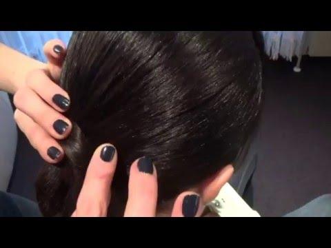 Ballroom Hairstyle For Shoulder Length Hair Youtube