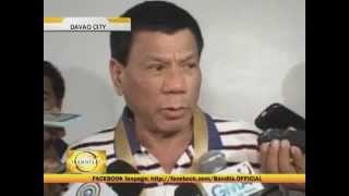 Duterte defends Davao cops