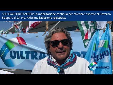 SOS TRASPORTO AEREO: La mobilitazione continua per chiedere risposte al Governo  Sciopero di 24 ore