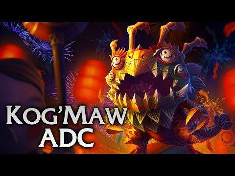 Lion Dance Kog'Maw ADC - Full Game Commentary