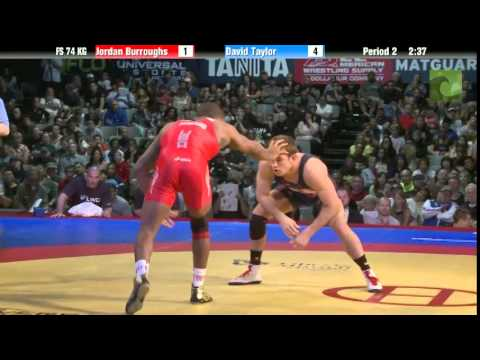 74 KG Finals - Jordan Burroughs (Sunkist Kids) vs. David Taylor (NLWC) from YouTube · Duration:  9 minutes 27 seconds