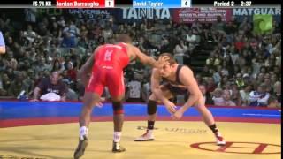 74 KG Finals - Jordan Burroughs (Sunkist Kids) vs. David Taylor (NLWC)