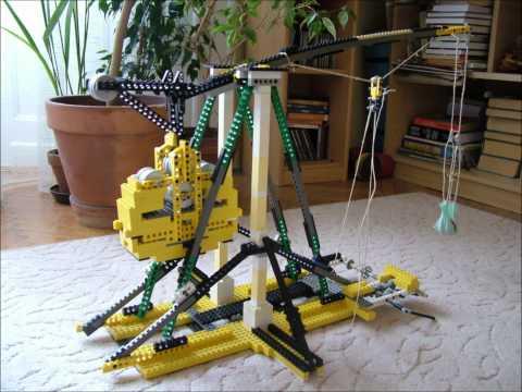Lego trebuchet slideshow